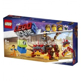 LEGO® PRZYGODA 2™ LEGO MOVIE 2™ - ULTRAKOCIA I LUCY WOJOWNICZKA - 70827