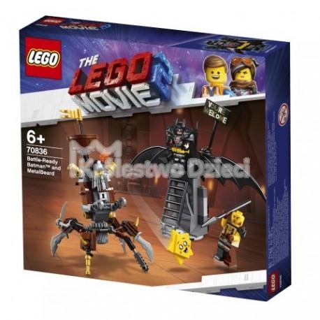 LEGO® PRZYGODA 2™ LEGO MOVIE 2™ - BATMAN I STALOWOBRODY - 70836