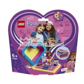 LEGO® - FRIENDS - PUDEŁKO W KSZTAŁCIE SERCA OLIVII - 41357
