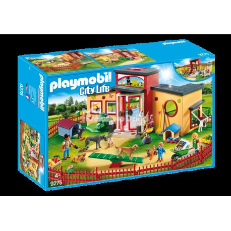 PLAYMOBIL - CITY LIFE - HOTEL DLA ZWIERZĄT ŁAPKA - 9275