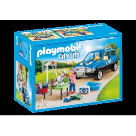 PLAYMOBIL - CITY LIFE - MOBILNY SALON DLA PSÓW - 9278