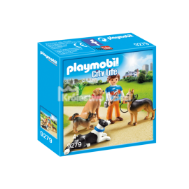 PLAYMOBIL - CITY LIFE - TRENER PSÓW - 9279