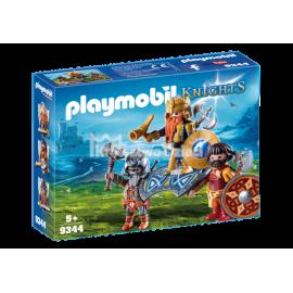 PLAYMOBIL - KNIGHTS - KRÓL KRASNOLUDÓW - 9344