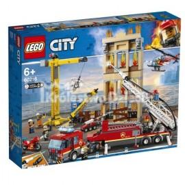 LEGO® - CITY - STRAŻ POŻARNA W ŚRÓDMIEŚCIU - 60216