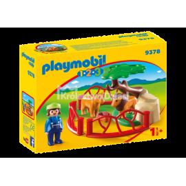 PLAYMOBIL - 123 - ZAGRODA LWÓW - 9378