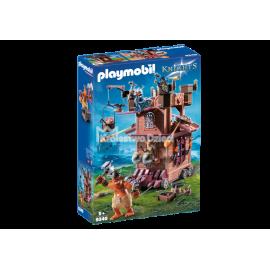 PLAYMOBIL - KNIGHTS - MOBILNA FORTECA KRASNOLUDÓW - 9340