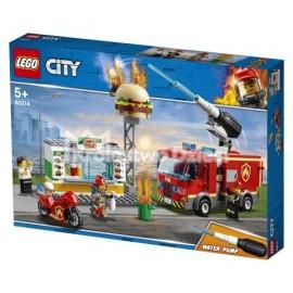 LEGO® - CITY - NA RATUNEK W PŁONĄCYM BARZE - 60214