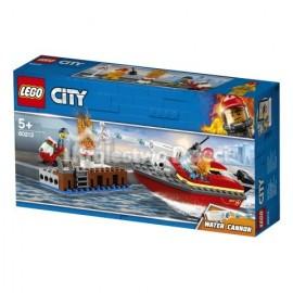LEGO® - CITY - POŻAR W DOKACH - 60213