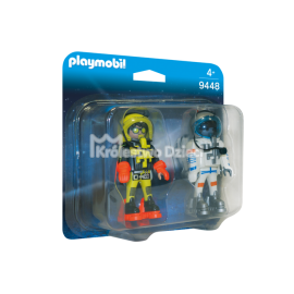 PLAYMOBIL - SPACE - DUO PACK - ASTRONAUCI - 9448