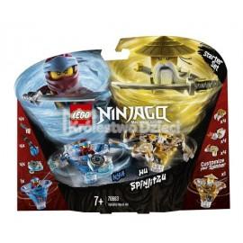 LEGO® - NINJAGO® - SPINJITZU NYA & WU - 70663