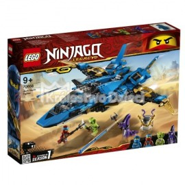 LEGO® - NINJAGO® - BURZOWY MYŚLIWIEC JAYA - 70668