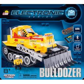 COBI - ELECTRONIC - BULDOŻER Z BLUETOOTH - 480 EL. - 21910