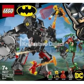 LEGO® - DC COMICS™ SUPER HEROES - MECH BATMANA KONTRA MECH TRUJĄCEGO BLUSZCZA - 76117