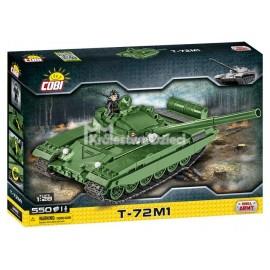 COBI - MAŁA ARMIA - T-72M1 - RADZIECKI CZOŁG PODSTAWOWY - 550 EL - 2615