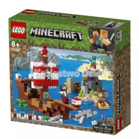 Lego Minecraft Przygoda Na Statku Pirackim 21152 386 El
