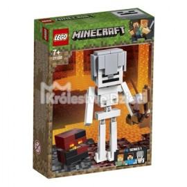 LEGO® - MINECRAFT™ - MINECRAFT BIG FIT - SZKIELET Z KOSTKĄ MAGMY - 21150
