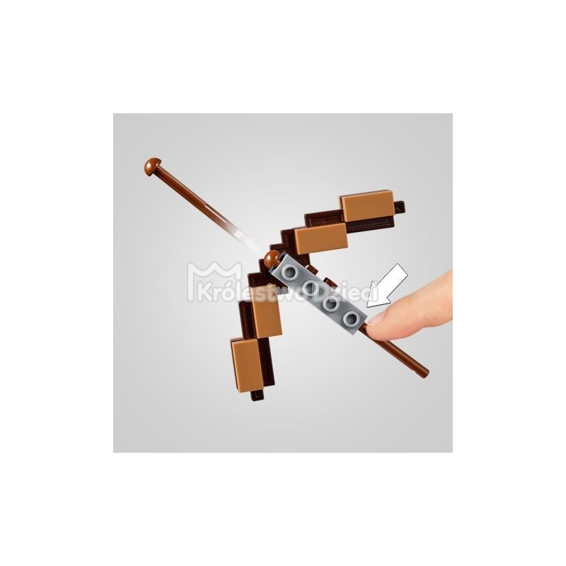 8af6c42fe ... LEGO® - MINECRAFT™ - MINECRAFT BIG FIT - SZKIELET Z KOSTKĄ MAGMY - 21150