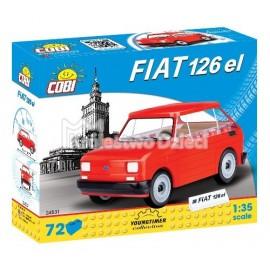 COBI - MAŁY FIAT 126P 1994-1999 - 72 EL. - 24531