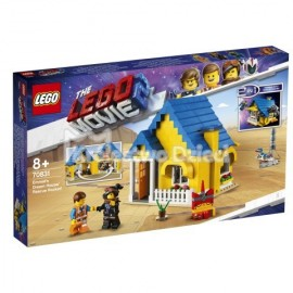 LEGO® PRZYGODA 2™ LEGO MOVIE 2™ - DOM EMMETA - RAKIETA RATUNKOWA - 70831