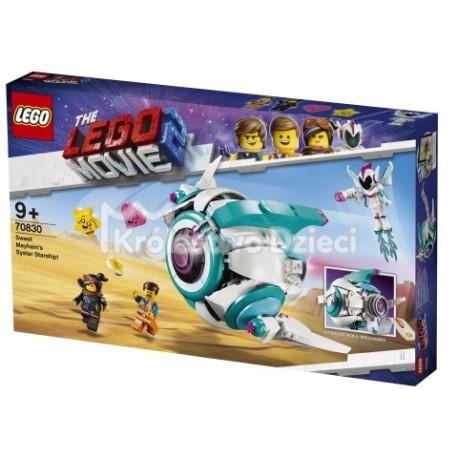 Lego Przygoda 2 Lego Movie 2 Gwiezdny Statek Słodkiej Zadymy