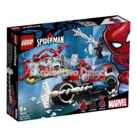LEGO® - MARVEL SUPER HEROES - POŚCIG MOTOCYKLOWY SPIDERMANA - 76113