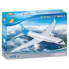 COBI - KLOCKI - SAMOLOT - BOEING 737 MAX 8 - 320 EL. - 26175
