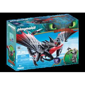 PLAYMOBIL - DRAGONS - ŚMIERCIOZAUR I GRIMMEL - 70039