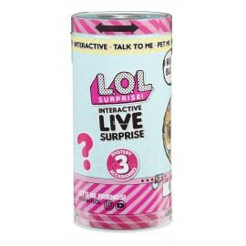 L.O.L. INTERACTIVE LIVE SURPRISE - LOL NIESPODZIANKA - ZWIERZĄTKO INTERAKTYWNE NOWE! + AKCESORIA - 557166