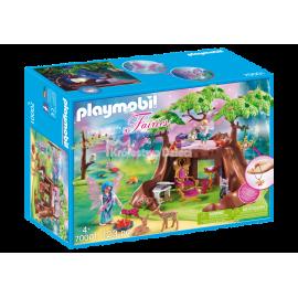 PLAYMOBIL - FAIRIES - LEŚNY DOMEK WRÓŻEK - 70001