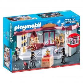 PLAYMOBIL - CITY ACTION - NAPAD NA MUZEUM - 9451