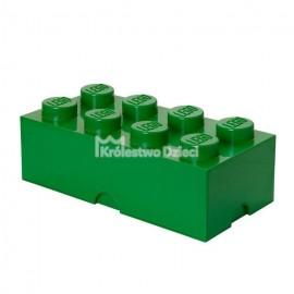 LEGO® - POJEMNIK NA KLOCKI ZABAWKI I INNE - KLOCEK 8 WYPUSTEK - ZIELONY - 4004