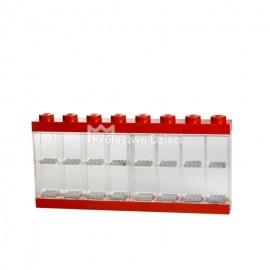 LEGO® - POJEMNIK GABLOTKA NA 16 MINIFIGUREK LEGO® - CZERWONA - 4066