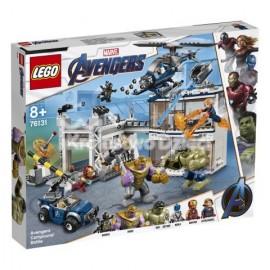 LEGO® - MARVEL AVENGERS - BITWA W KWATERZE AVENGERSÓW - 76131