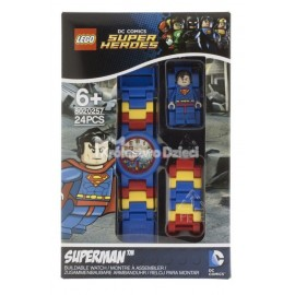 LEGO® - DC SUPER HEROES™ - ZEGAREK NA RĘKĘ - SUPERMAN - 8020257