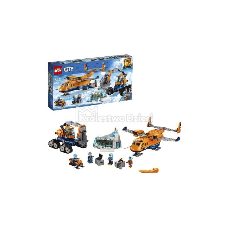 Lego City Arktyczny Samolot Dostawczy 60196 Królestwo Dzieci