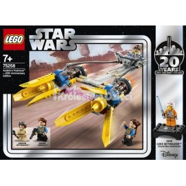 LEGO® - STAR WARS™ - ŚCIGACZ ANAKINA - EDYCJA ROCZNICOWA - 75258