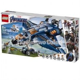 LEGO® - MARVEL AVENGERS - WSPANIAŁY QUINJET AVENGERSÓW - 76126