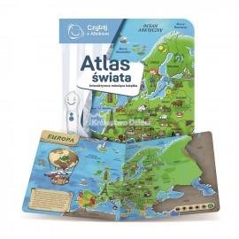ALBI - CZYTAJ Z ALBIKIEM - KSIĄŻKA - ATLAS ŚWIATA - 74608