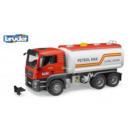 BRUDER - MAN RGS 26.500 Z CYSTERNA PETROL MAX - 03775