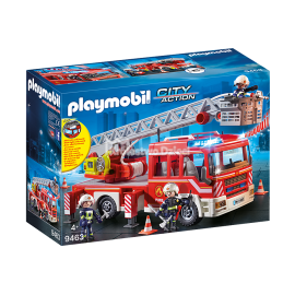 PLAYMOBIL - CITY ACTION - SAMOCHÓD STRAŻACKI Z DRABINĄ - 9463