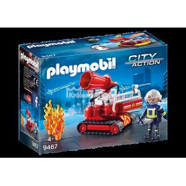PLAYMOBIL - CITY ACTION - ROBOT DO GASZENIA POŻARU - 9467