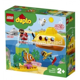LEGO® - DUPLO® - PRZYGODA W ŁODZI PODWODNEJ - 10910