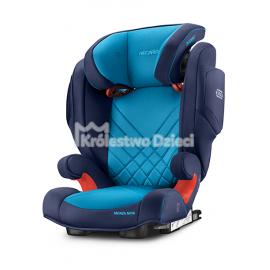 RECARO - FOTELIK SAMOCHODOWY - MONZA NOVA 2 SEATFIX - 15-36 KG - XENON BLUE - 61172