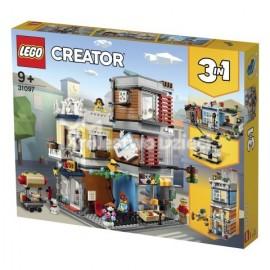 LEGO® - CREATOR - SKLEP ZOOLOGICZNY I KAWIARENKA - 31097