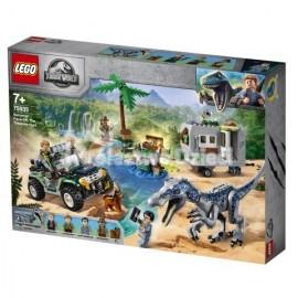 LEGO® - JURASSIC WORLD™ - STARCIE Z BARIONYKSEM: POSZUKIWANIE SKARBÓW - 75935