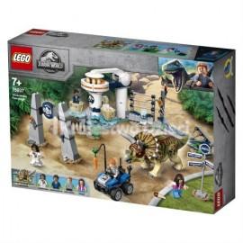 LEGO® - JURASSIC WORLD™ - ATAK TRICERATOPSA - 75937