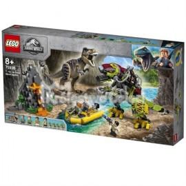 LEGO® - JURASSIC WORLD™ - TYRANOZAUR KONTRA MECHANICZNY DINOZAUR - 75938