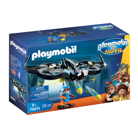 PLAYMOBIL FILM - THE MOVIE - ROBOTITRON Z DRONEM - 70071