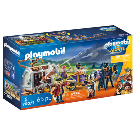 PLAYMOBIL FILM - THE MOVIE - CHARLIE I POWÓZ RZEZIMIESZKÓW - 70073