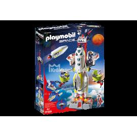 PLAYMOBIL - SPACE - RAKIETA KOSMICZNA Z RAMPĄ STARTOWĄ - 9488